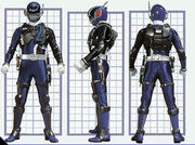 SPD Blue Ranger Swat Mode