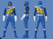 Blue Dino Charge Ranger Form2