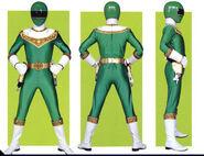 Green Zeo Ranger Form