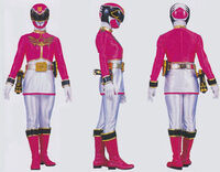 Pink Megaforce Ranger Form