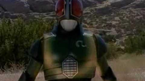 Masked rider super gold