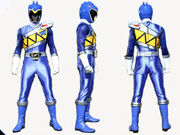 Blue Dino Charge Ranger Form