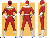 Red Zeo Ranger Form