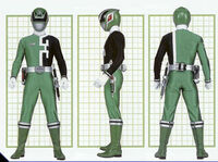 SPD Green Ranger Form