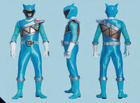 Aqua Dino Charge Ranger Form