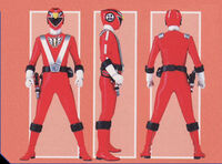 Red RPM Ranger Form
