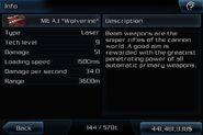M6 a3 wolverine info page