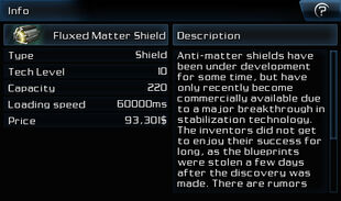 Fluxed Matter Shield