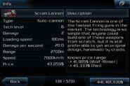 Scram cannon info page