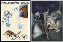 Med Stone Wolves