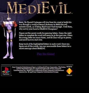 MediEvil Hangman