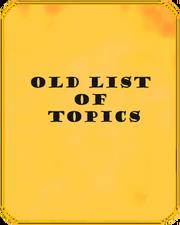 Oldlist