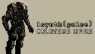 !synth(pulse) Colossus Wars Promo Art