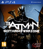 Batman Gotham Warzone Cover Art