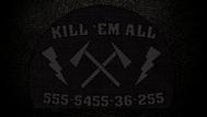 Kill 'Em All Promo Art