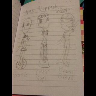 Anna's original art. (Inspired by Rosalina, Zelda, and Marx(And the Noddies. DON'T YOU QUESTION ME!!!).)