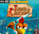 Moorhuhn Tiger and Chicken