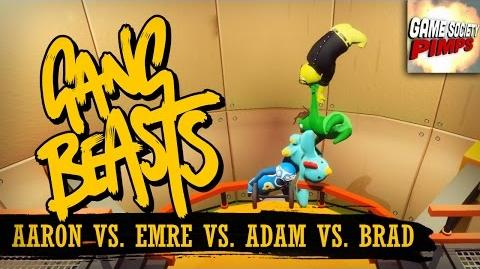 Gang Beasts - Chain of Idiots (With ALL the GameSocietyPimps)