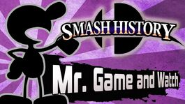Mr. Game and Watch