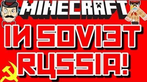 Minecraft in Soviet Russia