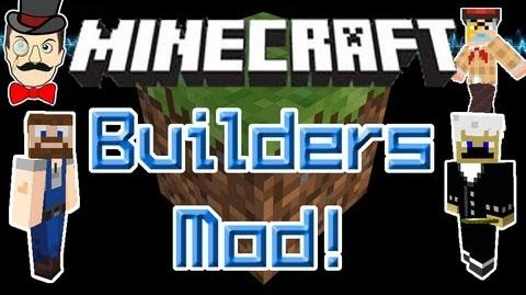 Minecraft Mods - BUILDERS Mod! Human Mobs Build Structures, Villages & Towns!