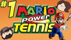 Mario Power Tennis 1
