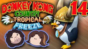 Donkey Kong Country Tropical Freeze Part 14 - Welcome to the Party
