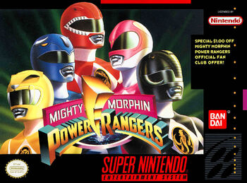 MightyMorphinPowerRangersCover