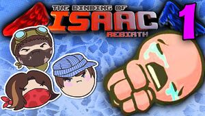 The Binding of Isaac Rebirth Part 1 - Nightmare Diglets