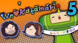 We Love Katamari Part 5 - Personality Test