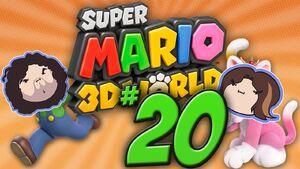 Super Mario 3D World Part 20 - Cat Party Friends