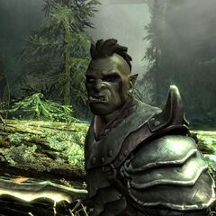 An orc.
