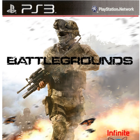 The front cover design for the unreleased PlayStation 3 version.