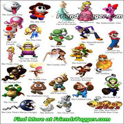 Tag Your Friends as Super Mario on Facebook & MySpace