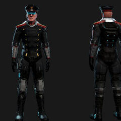Concept Art for Captain's Outfit