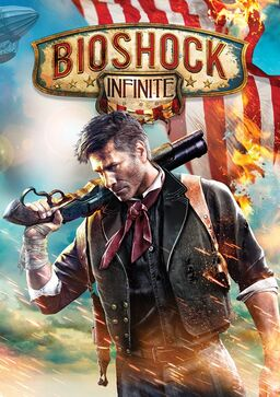 Official cover art for Bioshock Infinite