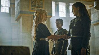 Yara and Dany make a pact
