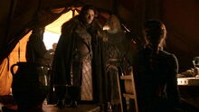 Robb confronts Catelyn
