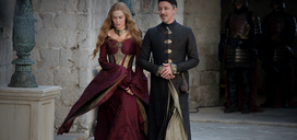 Cersei Baelish Kissed by Fire