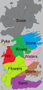 Bastard names by region