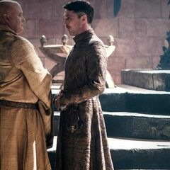 Varys and Littlefinger converse in