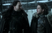 Jon and Benjen 1x03