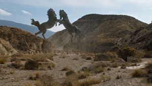 S6 Horse Statues