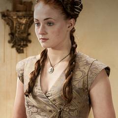 Sansa before her wedding.