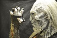 White Walker behind the scenes prosthetics 2