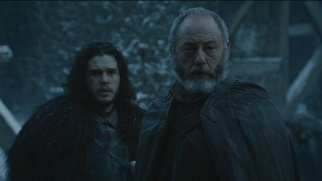 File:Davos and Jon hear about the deaths of Stannis and Shireen.jpg