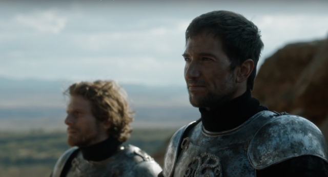 File:Ser Arthur Dayne (right) at the Tower of Joy.png