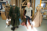 Clapton in costumes department