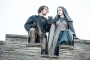 Theon and Sansa escape