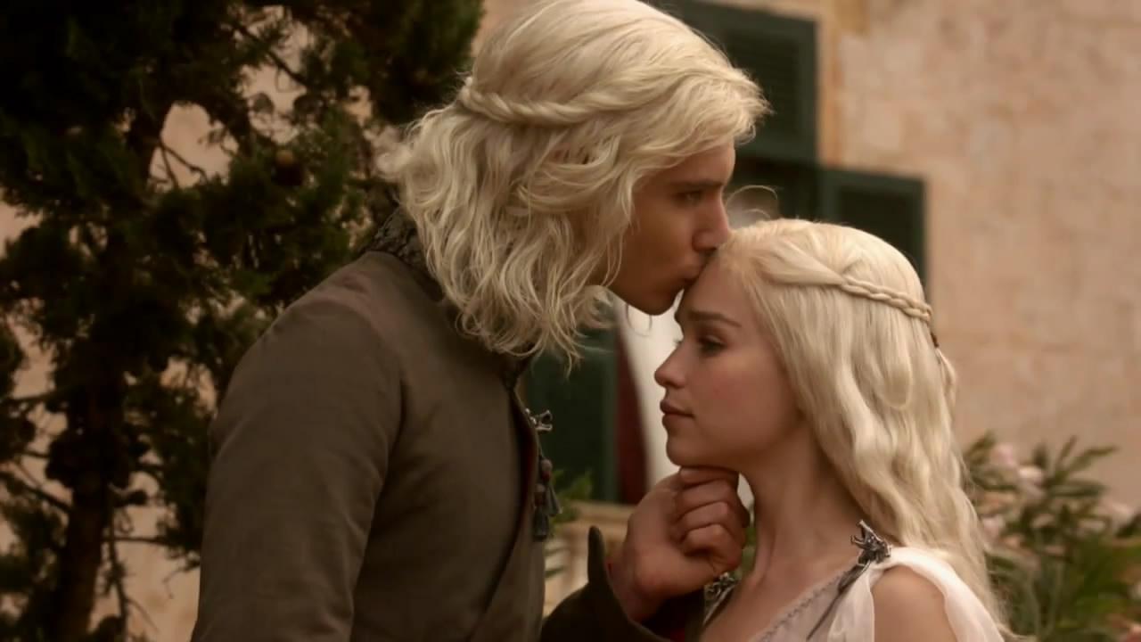 Daenerys targaryen and khal drogo wallpaper daenerys targaryen wedding - Season 1 Viserys Targaryen